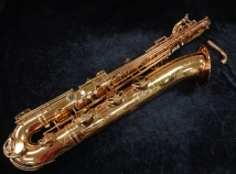 WOW! Vintage Super Balanced Action Transitional Baritone Sax Original Lacquer, Serial #55073