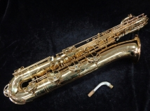 Yanagisawa 991 Low A Baritone Sax In Gold Lacquer – Top Notch Pro Player, Serial #00238057