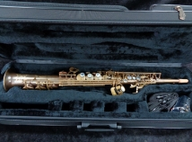 P Mauriat System 76 UNLACQUERED One Piece Soprano Sax - Serial # PM0563017