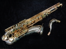 NEW Chateau CTS-96VSL Series Pro Tenor Saxophone in Silver Finish