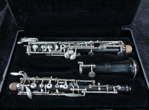 F Loree Paris Oboe – Side F and Low Bb,  Serial Number AX81