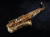 Beautiful Condition! P. Mauriat 67RGL Gold Lacquer Alto Saxophone, Serial #PM0406117