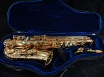 Bargain Price! Mint Condition P. Mauriat 67RGL Gold Lacquer Alto Sax, Serial #Pm0705308