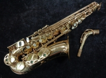 Selmer Paris Super Action 80 SII Alto Saxophone in Gold Lacquer, Serial #414141