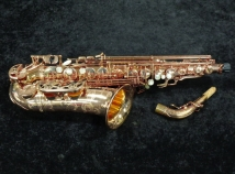 Top-of-the-Line Yanagisawa 992 Pink Gold Plate Alto Sax - Serial # 00266309