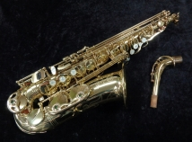 Very Pretty! Selmer Paris Super Action 80 SII Alto Saxophone, Serial # 587728