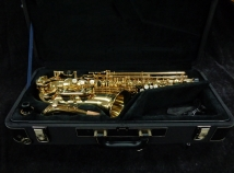 Lightly Used! Yanagisawa W01 Alto Sax in Gold Lacquer, Serial #00370102 MINT!