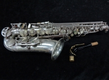A Real Players Horn! Selmer Paris SIII Alto Sax in Silver Plate, Serial #600400
