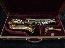 Vintage Original Lacquer Martin Committee II Handcraft Lion and Crown Alto Sax, Serial #139792