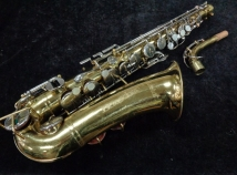 Late Vintage Buescher Aristocrat Alto Saxophone, Serial #400603 - Ready To Play!!