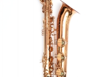 NEW Saxquest Step-Up Advanced Baritone Saxophone in Cognac Lacquer