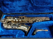 Beautiful Original Lacquer Buffet S1 Alto Saxophone in Gold Lacquer, Serial #30216