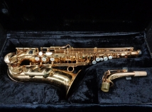 Very Pretty! Vintage H. Couf Superba I Alto Saxophone Made by Julius Keilwerth, Serial #86679
