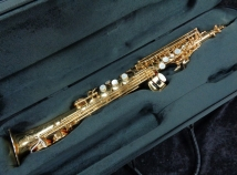 Rampone and Cazzani R1 Tipped Bell Saxello Style  Soprano Sax, Serial #94743