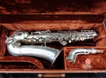 Original Silver Plated Conn 6M VIII 'Naked Lady' Alto Sax - Serial # 301361