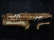 Vintage Original Lacquer Conn DJH Modified – Naked Lady Alto Sax by Couf, Serial #90428