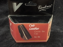 Closeout Pricing! Vandoren Leather Ligature Cap for Alto Sax - New Old Stock