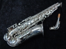 Beautiful Original Silver Selmer Paris Mark VI Alto Saxophone, Serial #67372