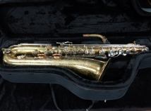 Vintage Buescher 400 Low Bb Baritone Sax – Great Players Horn, Serial #407669