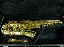 Yamaha YAS-52 Alto Saxophone in Gold Lacquer - Great Step Up, Serial #010021