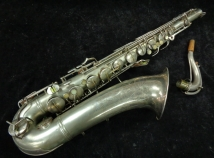 Vintage C.G. Conn 10M Original Silver Plated Naked Lady Tenor Sax, Serial #311959