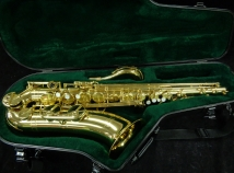 Very Nice! Used Yamaha YTS-52 Gold Lacquer Tenor Saxophone, Serial #008739A