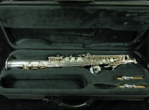 Awesome! Selmer Paris Series III Soprano Saxophone in Silver Plate, Serial #674675