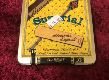 Box of 10 Reeds for Price of 5 - Alexander Superial 3.5 for Bb Clarinet - Inventory Close Out
