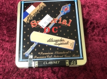 Close Out! Box of 10 Reeds for Price of 5 - Alexander DC 4 1/2 For Clarinet