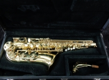 Selmer USA Model AS210 Alto Saxophone in Gold Lacquer, Serial # 134755