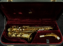 Beautiful Original Lacquer First Series Balanced Action Alto Sax, Serial #21643