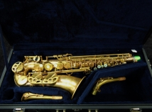 Yamaha YAS-82Z Custom Z Un-Lacquered No High F# Alto Sax, Serial #C42975
