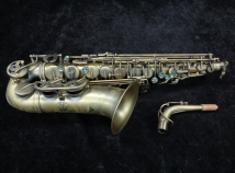 Lightly Played! P. Mauriat System 76 DK Dark Lacquer Alto Saxophone, Serial #Pm0620418