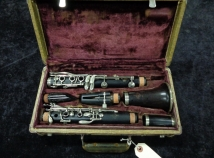 Vintage Buffet R13 Bb Clarinet with Nickel Keys #94812 - Full Restoration