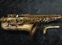 P. Mauriat System 76 Custom II Alto Sax UNLACQUERED – No High F#, Serial #PM0921013