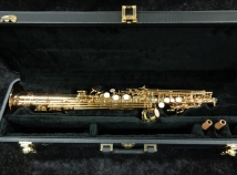 Incredible! Mint Condition Yanagisawa S-992 Soprano Saxophone – Bronze w/ High G, Serial #00352356