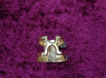 Vintage Harrison A2 Gold Plated Ligature for Alto Saxophone