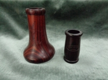 Hand Selected MoBa Cocobolo Bell and Traditional Grenadilla 66m Barrel