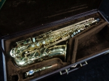 WOW! Gorgeous Selmer Paris Super Action 80 SII Alto in Gold Lacquer, Serial #615622