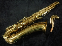 Beautiful! Vintage Original Lacquer C.G. Conn 10M Naked Lady Tenor Saxophone, Serial # 318455