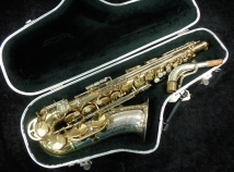 Vintage King Super 20 Silver Sonic Alto Saxophone, Serial #501898