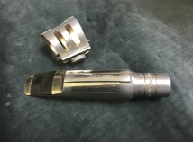 EARLY Florida Vintage Metal Otto Link # 6 Bari Sax Mouthpiece - Serial # J98