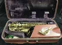 1955 Vintage Selmer Paris Mark VI Alto Sax in Original Lacquer - Serial # 63186