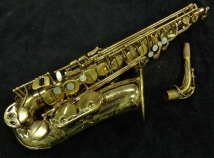 Pro Player Special! Early Selmer Paris Super Action 80 SII in Gold Lacquer, Serial #395168
