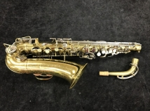Good Original Lacquer Buescher Aristocrat Alto Sax - Serial # 471961