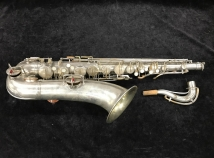 Original Silver Plated CG Conn Chu Berry Tenor Sax in New Pads - Serial # 172005