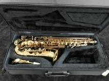 Mint Condition P Mauriat PMSA-57GC Intermediate Level Alto Sax - Serial # PM0713117