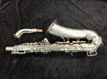 Early Conn 6M VIII Alto Sax in Original Nickel Plate - Serial # 279124