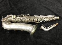 Original Silver Plated Conn 'Transitional' 6M Alto Sax w/ Naked Lady Engraving - Serial # 252212