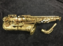 Vintage ORIGINAL LACQUER Selmer Super Balanced Action Alto Sax - Serial # 37283